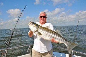 Chesapeake Bay Fishing Charter Rockfish